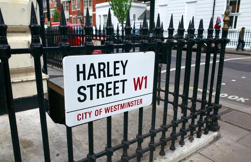 ハーレーストリート看板